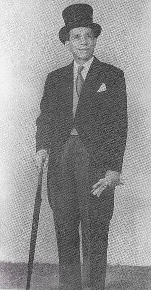 José E. Romero - Taken in 1949 when Jose E. Romero presented his credentials as Philippine foreign minister, later ambassador, to the UK.