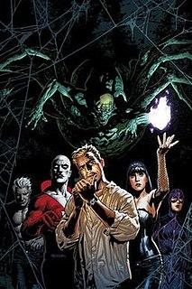Justice League Dark Fictional Superhero team appearing in DC Comics