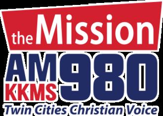 KKMS (AM) - Image: KKMS am 980the Mission logo