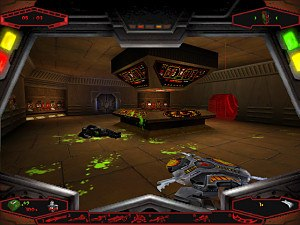 Star Trek: The Next Generation: Klingon Honor Guard - Aftermath of battle aboard a Klingon D7 cruiser