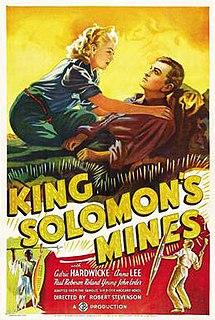 <i>King Solomons Mines</i> (1937 film) 1937 film by Geoffrey Barkas, Robert Stevenson