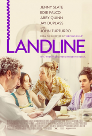Landline (film) - Theatrical release poster
