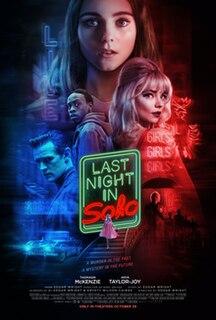 <i>Last Night in Soho</i> 2021 film directed by Edgar Wright