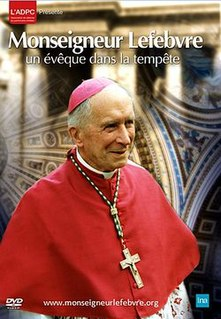 <i>Marcel Lefebvre – Archbishop in Stormy Times</i> 2012 film