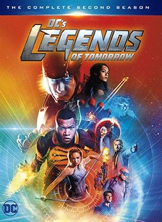 Legends of Tomorrow (season 2) - Home media cover
