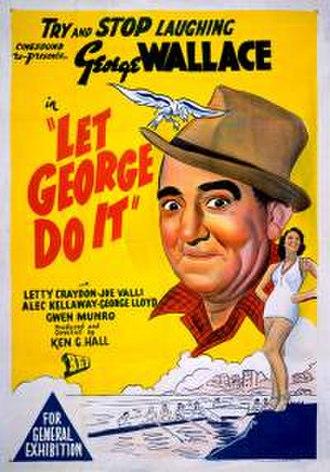 Let George Do It (1938 film) - Image: Let George Do It