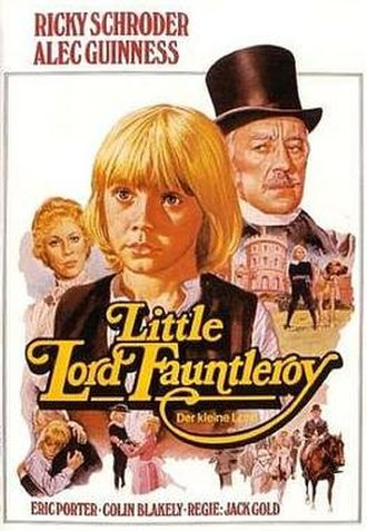 Little Lord Fauntleroy (1980 film) - DVD cover