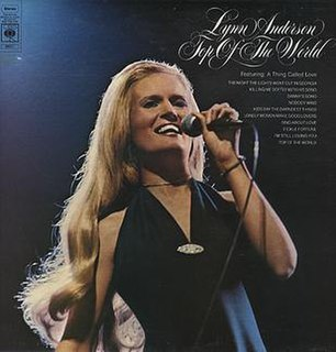 <i>Top of the World</i> (Lynn Anderson album) 1973 studio album by Lynn Anderson