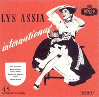 Refrain (Lys Assia song) - Image: Lys Assia Refrain