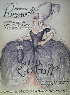 <i>Madame Pompadour</i> (operetta) opera