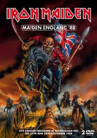 Maiden England - Image: Maiden England '88 DVD cover
