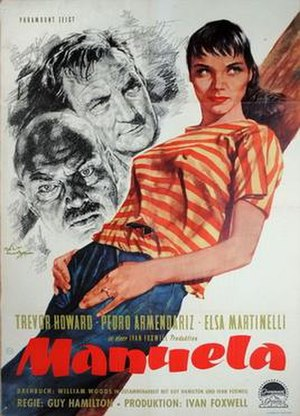 Manuela (1957 film) - Film poster