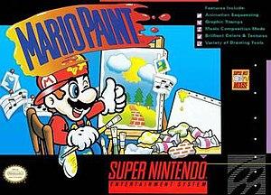Mario Paint - North American box art