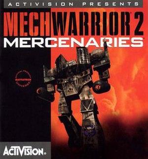 MechWarrior 2: Mercenaries - Image: Mech Warrior 2 Merc cover