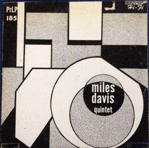 Miles Davis Quintet (album) - Image: Miles Davis Quintet 1954Album