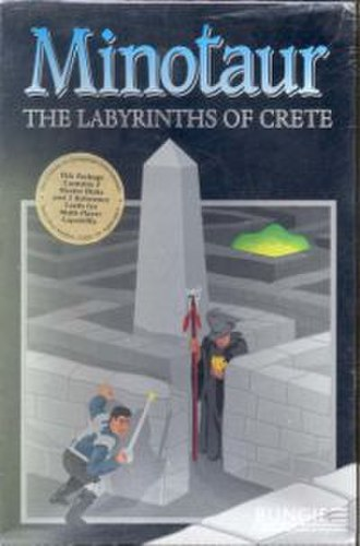 Minotaur: The Labyrinths of Crete - Image: Minotaurof Crete Cover