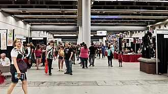 Montreal Comiccon - View of the main hall during the 2012 edition