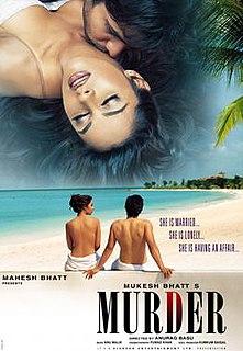 <i>Murder</i> (2004 film) 2004 Hindi erotic thriller film directed by Anurag Basu