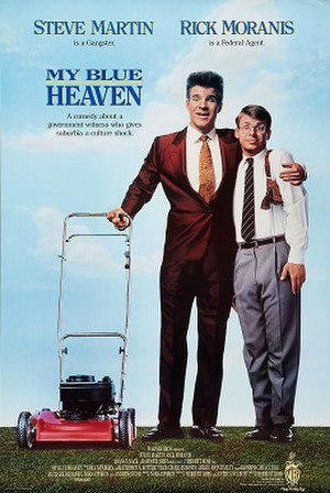 My Blue Heaven (1990 film) - Theatrical release poster