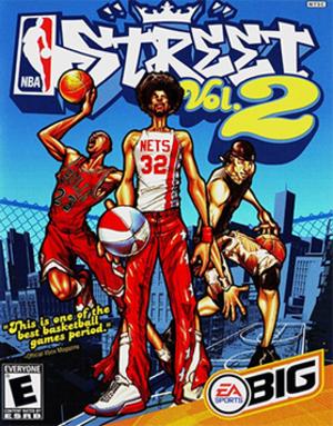 NBA Street Vol. 2 - Image: NBA Street Vol. 2 Coverart
