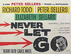 Never Let Go - British quad poster