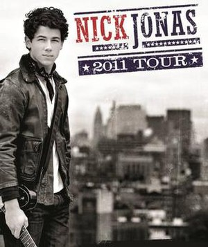 2011 Tour - Official poster