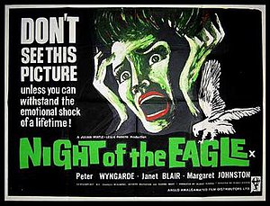 Night of the Eagle - British original poster