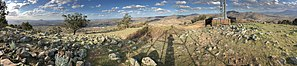 Tuggeranong Hill - Image: Panorama view from Tuggeranong Hill