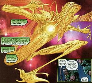 Parallax (comics) - Image: Parallax rebirth