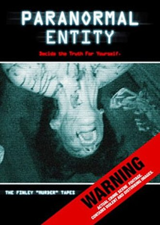 Paranormal Entity - DVD cover art