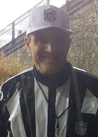 Pete Morelli - Image: Pete Morelli, 2013 AFC Divisional 011114