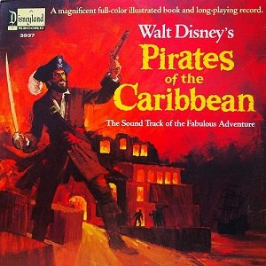 Pirates of the Caribbean (1966 soundtrack) - Image: Pirates of the Caribbean (1966 soundtrack)