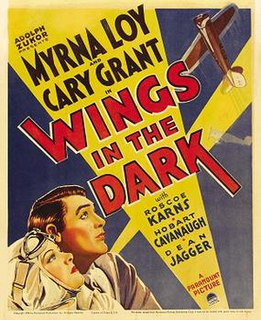 <i>Wings in the Dark</i> 1935 film by James Flood