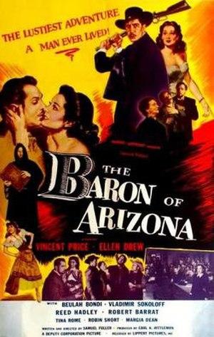 The Baron of Arizona - Image: Poster of the movie The Baron of Arizona