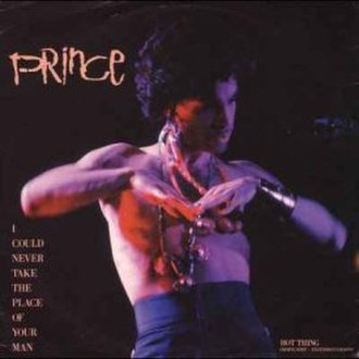 I Could Never Take the Place of Your Man - Image: Prince nevertake cover
