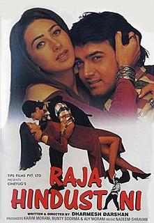 <i>Raja Hindustani</i> 1996 film by Dharmesh Darshan