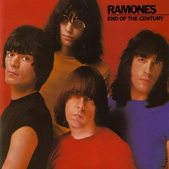 End of the Century - Image: Ramones End of the Century cover