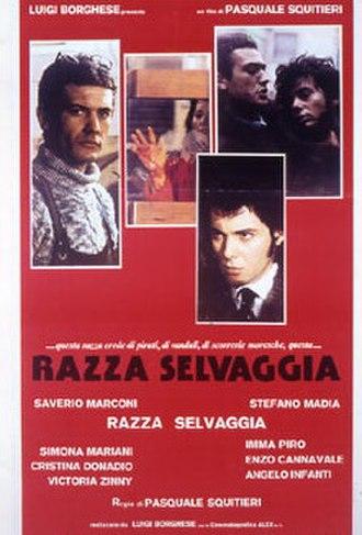 Savage Breed - Film poster