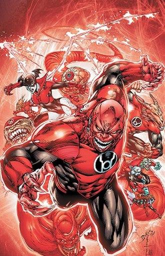 Red Lantern Corps - Image: Red Lantern Corps