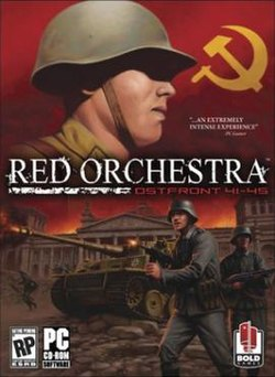 The box art for Red Orchestra: Ostfront 41–45