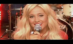 Red High Heels - Kellie Pickler in the music video.