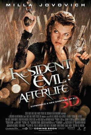 Resident Evil: Afterlife - Theatrical release poster