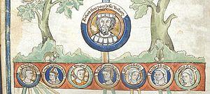 Richard I of Normandy - Image: Richard I Tree