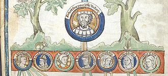 Richard I of Normandy - Image: Richard I Tree