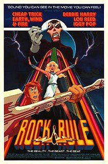 <i>Rock & Rule</i> 1983 Canadian animated musical science fiction fantasy film directed by Clive A. Smith
