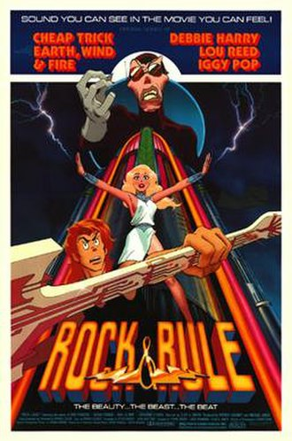 Rock & Rule - Theatrical release poster