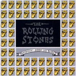 Anybody Seen My Baby? - Image: Roll Stones Single 1997 Anybody Seen My Baby
