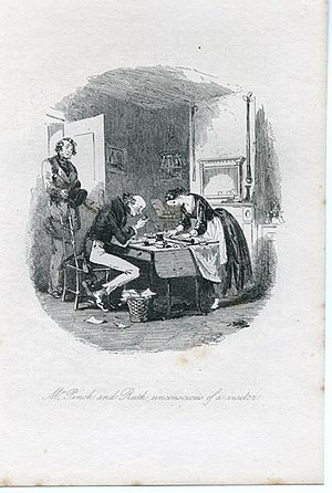 Martin Chuzzlewit - John Westlock and Ruth Pinch