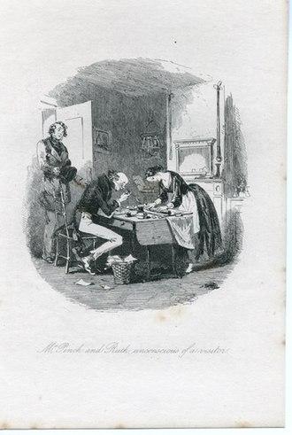 Martin Chuzzlewit - John Westlock and Ruth Pinch