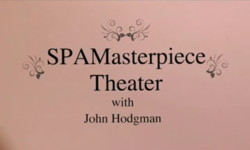 Title sequence from the first episode of SPAMasterpiece Theater